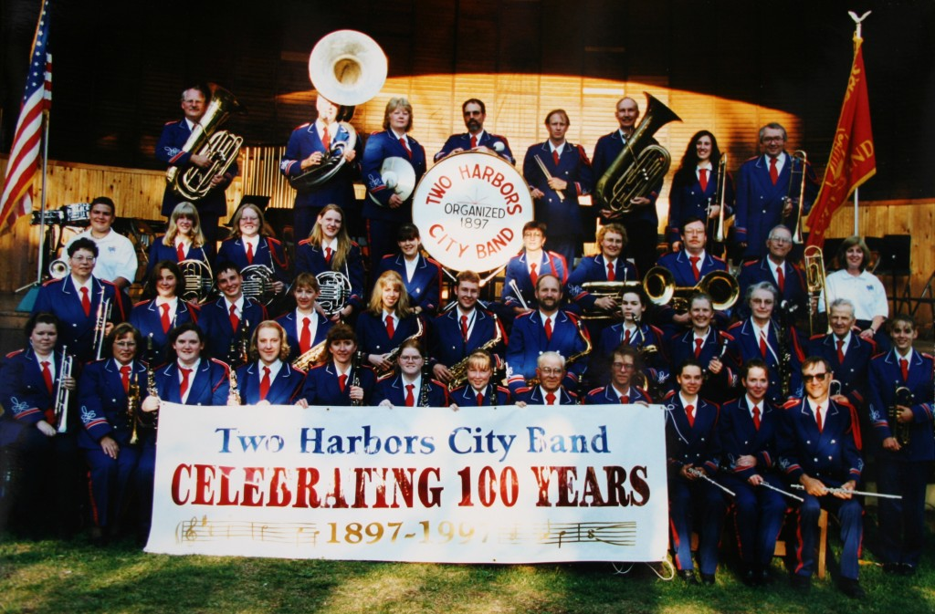 Two Harbors City Band 100th Anniversary